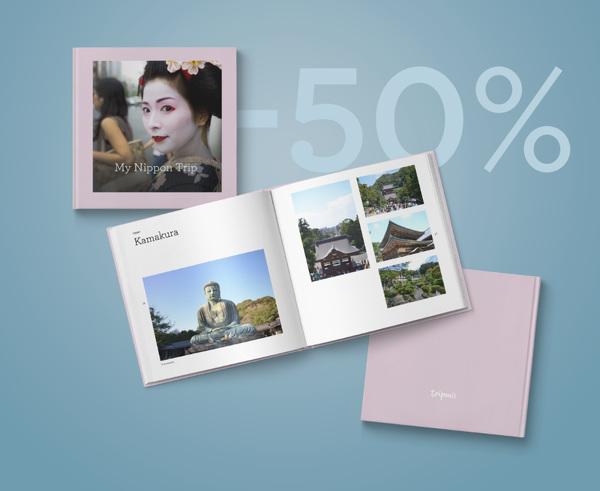 Das neue Tripmii-Fotobuch. Strahlende Farben, günstiger Preis